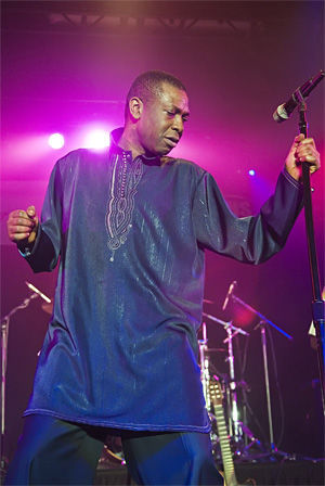 Youssou N'Dour, back in the U.S.A.